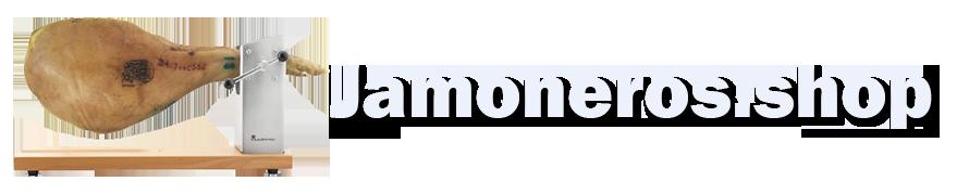 logotipo jamoneros.shop